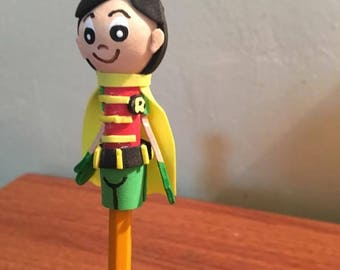 Robin Pencil Topper