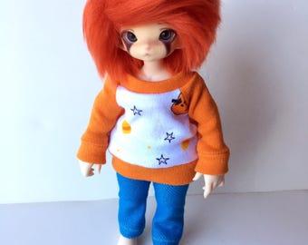 ANY Size Cute Halloween Crew Neck Sweater [Realfee, Zuzu, Yosd, Minifee, Msd, DC K-12, Sd13]