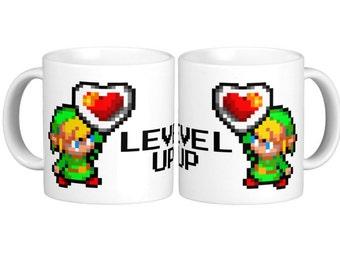 Level Up Mug - Legend of Zelda
