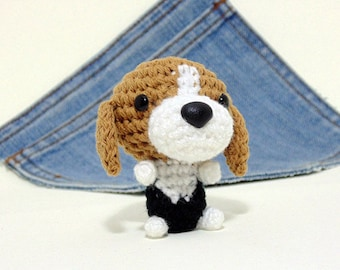 Amigurumi Beagle, crochet  Beagle, Puppy Dog toy. Beagle plushie. Dog plush toy.