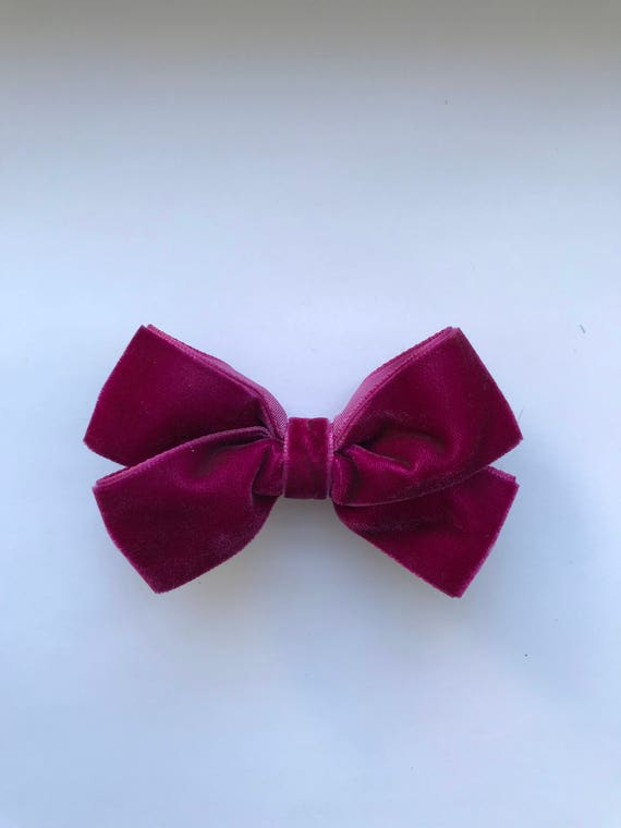 Luxe Velvet Large Bow