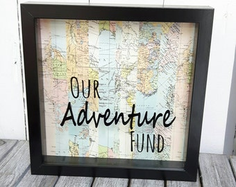 Our Adventure Fund Frame,Money Box,Adventures