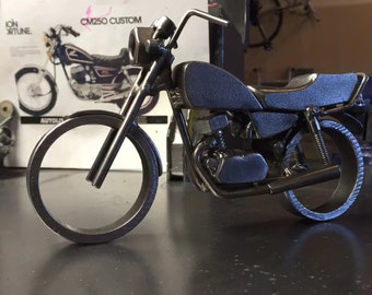 Custom motorcycle sculpture. I'll build your bike!