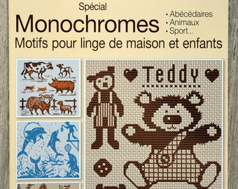 The bible of 5 - monochrome cross stitch magazine