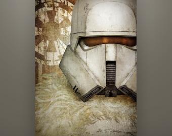 "Star Wars ""Solo"" Inspired ""Imperial Range Trooper"" 11X17 Art Print Herofied"