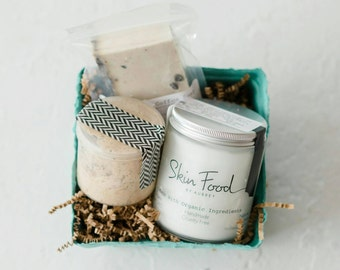 Skin Food | Body Care Gift Set | Organic Green Beauty | Bath and Body Gift Set