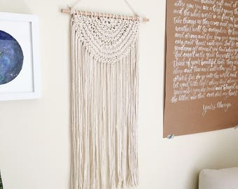Original Handknit Wall Hanging