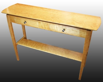 Side Table - Solid Cherry Hardwood