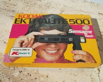 Vintage 1980 Kodak EKTRALITE 500 Camera in box