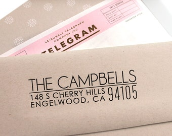 Address Stamp, Return Address Stamp, Address Stamp Self Ink, Save The Date Stamp, Wedding Stamp, Housewarming Gift,Gift for Her,Gift for Him