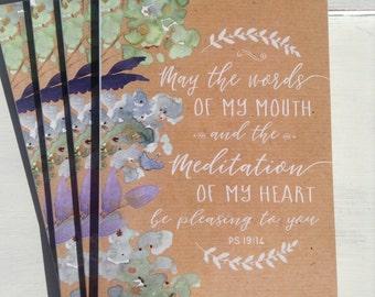 Meditation Notebook - jw gifts - jw notebook - jw notepad - jw ministry - jw pioneer - best life ever