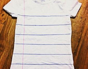 Notebook Paper Shirt - Short Sleeve