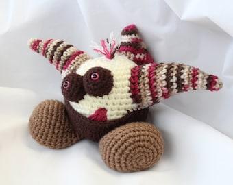 Amigurumi Crochet Pattern - Spike the Gumball Dragon