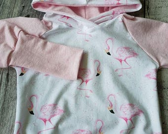 Hoodie scalable Flamingo - Pink Flamingo