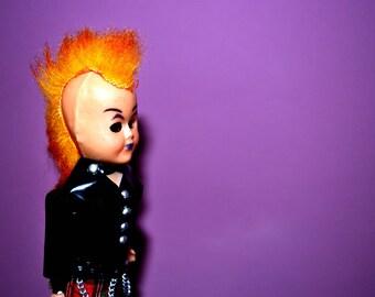 Marian Kenny Punk Doll. Alternative London Punk Doll.