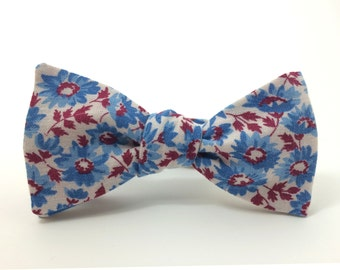Flora Americana Freestyle Bow Tie / adjustable 15 - 19 inches