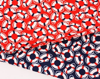 Oh Buoy Life Buoy Michael Miller Fabric by the Half Yard