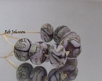 Purpy, Artisan Lampwork Glass Beads, SRA, UK
