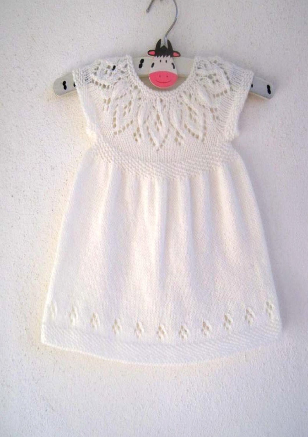 Jasmine Dress - Knitting Pattern - Baby girl to age 6 - Instant ...