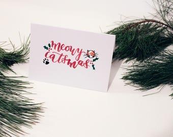 Meowy Catsmus / Color / Christmas Card
