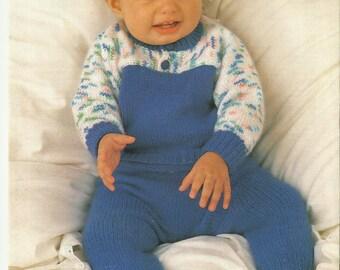 Baby Sweater and Pants pdf Knitting Pattern