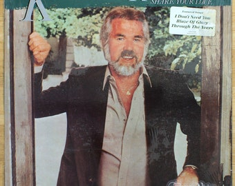 Kenny Rogers - Share Your Love (1981) [SEALED] Vinyl LP  Lionel Richie
