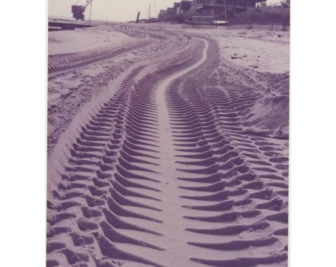 Vintage Snapshot Photo: Tracks (87700)