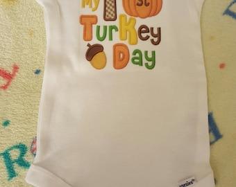 1st Thanksgiving onesie