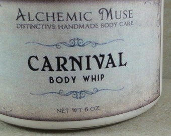 Carnival - Body Whip - Pink Grapefruit, Cotton Candy, Caramel, Bourbon Vanilla