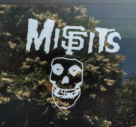 Sf giants misfits decal san francisco die cut vinyl sticker