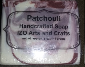 Patchouli Cold Process Goat Milk Soap