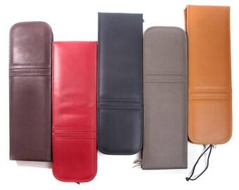 Romero Full Grain Leather Tie Case