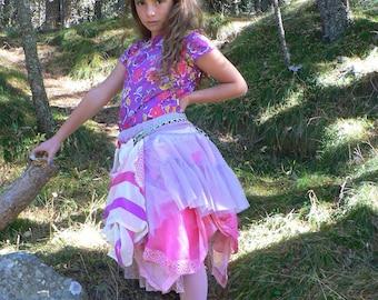 boho hippie skirt for girl
