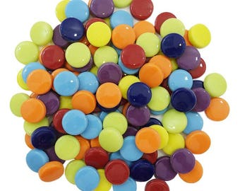 Spots Mosaic Glass 20mm Mix