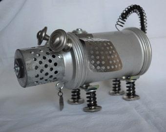 Junk Yard Dog Assemblage Sculptured BOT