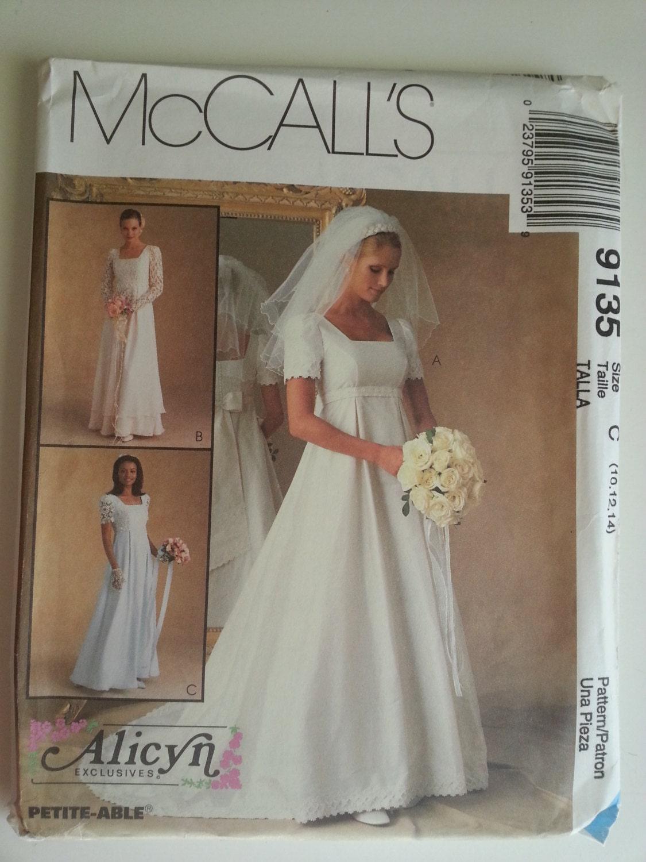 90er Jahre Hochzeit Kleid / Reich Brautkleid / Brautjungfer
