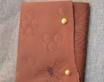 Hivemind Leather Journal/ Sketchbook