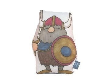 Viking Plush Medium Accent Pillow Softie Toy Doll Stuffed Animal
