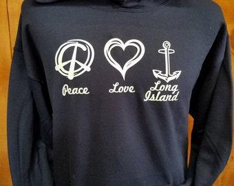 Love Long Island Hoodie
