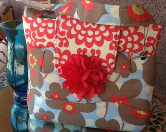 Adorable Lotus Fabric by Amy Butler, design by Mari