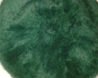 New  'green' classic Beret Hat Kangol Natural ANGORA WOOL soft warm French