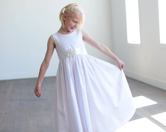 The Summer Flower Girl Dress available in 140 colours