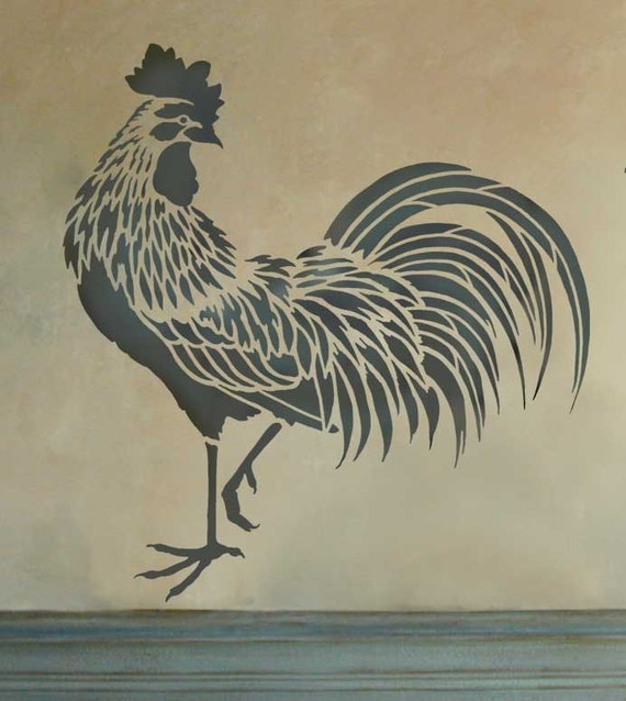Ambitious image within rooster template printable