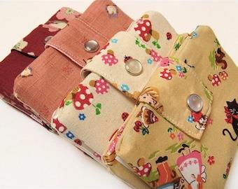 Custom fabric bifold wallet   Vegan wallet   Billfold wallet   Wallet