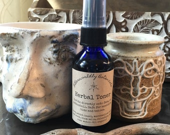Herbal Toner Facial Spritz Safe for Babies and Bits <3