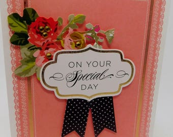 Card Wedding Birthday Graduation On your Special Day