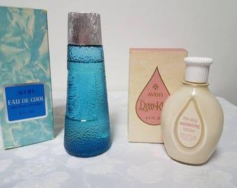 Vintage Avon Collection of Bottles