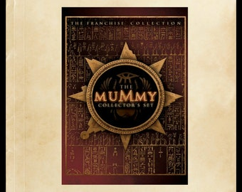 The Mummy Collector's Set DVD: (The Mummy - The Mummy Returns - The Scorpion King), Brendon Fraser, The Rock, Rachel Weisz, Action Adventure
