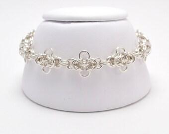Byzy Bugs Bracelet in Sterling Silver