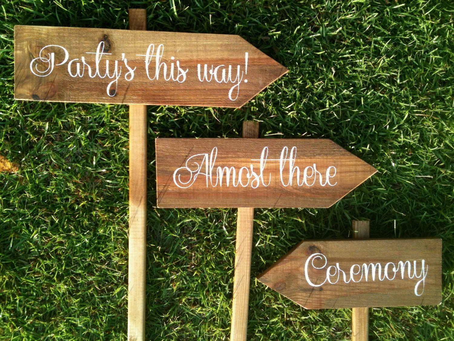 Personalized Wooden Wedding Signs Rustic Wedding Signs
